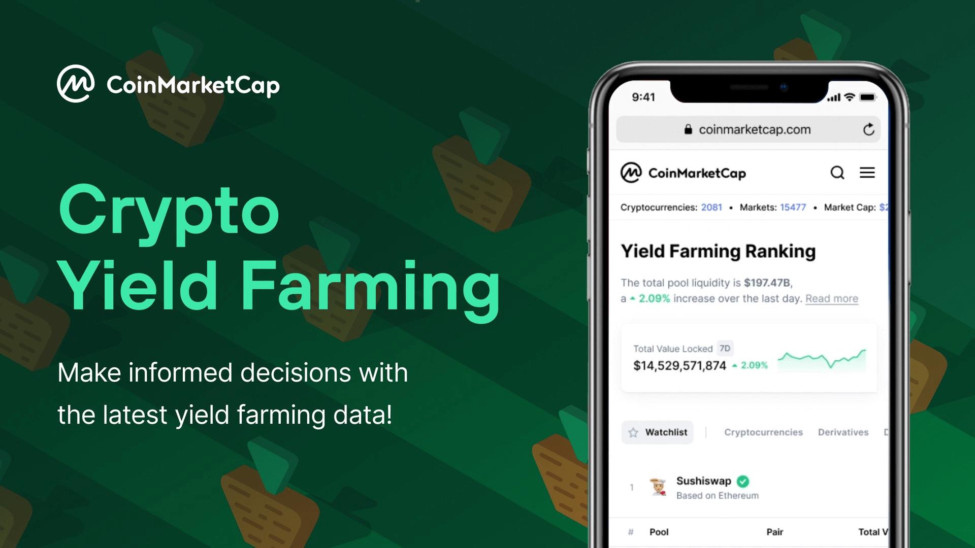 Aktuelle Krypto-DeFi-Yield Farming-Ranglisten   CoinMarketCap