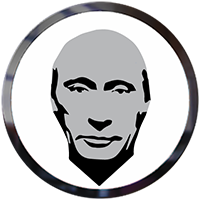 Image result for putin coin logo