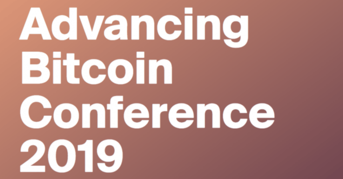 Advancing Bitcoin Conference 2019