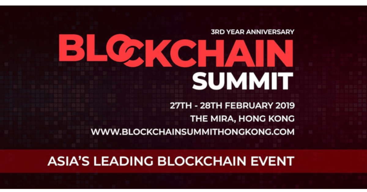 Blockchain Summit Hong Kong