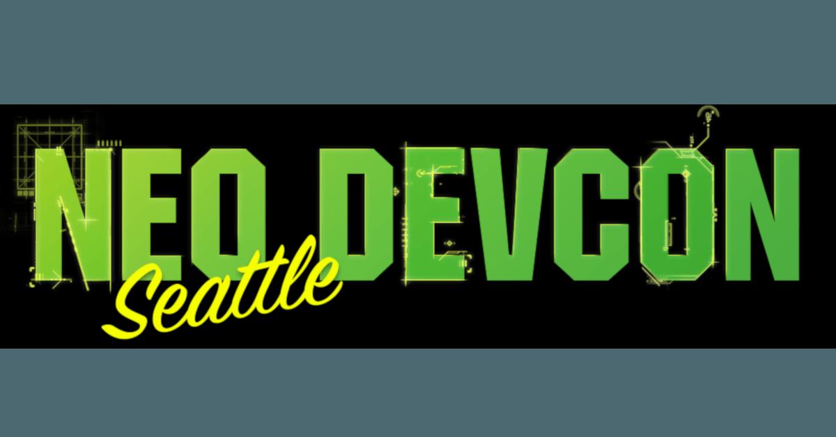 NEO DEVCON SEATTLE 2019