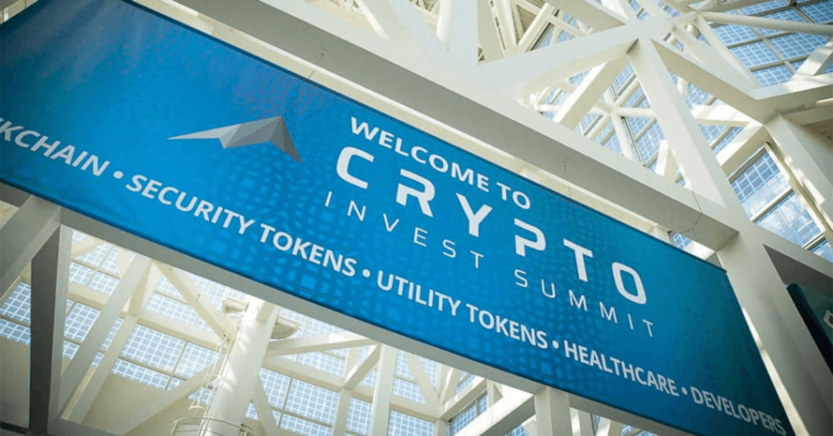 Crypto Invest Summit 2019