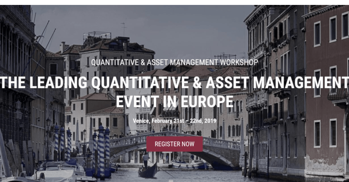 Quant Conference 2019