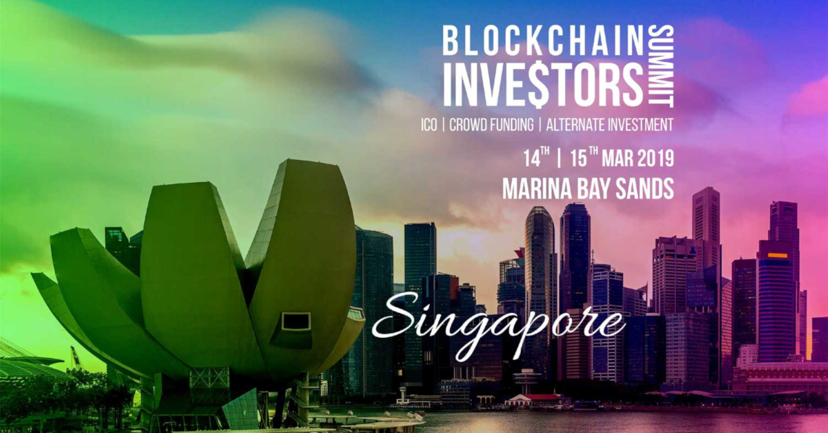 Blockchain Investors Summit 2019