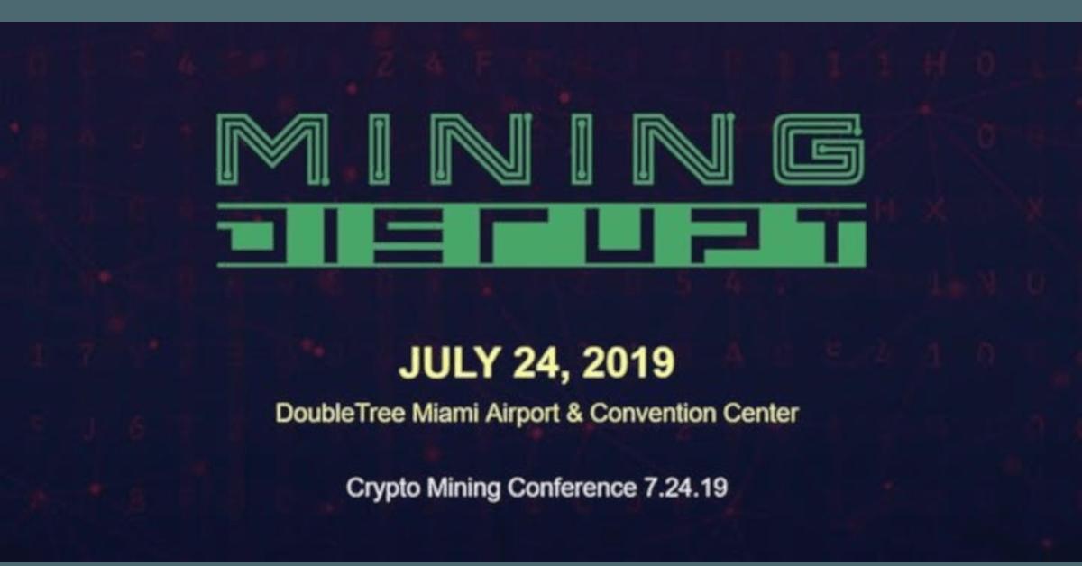 Mining Disrupt 2019