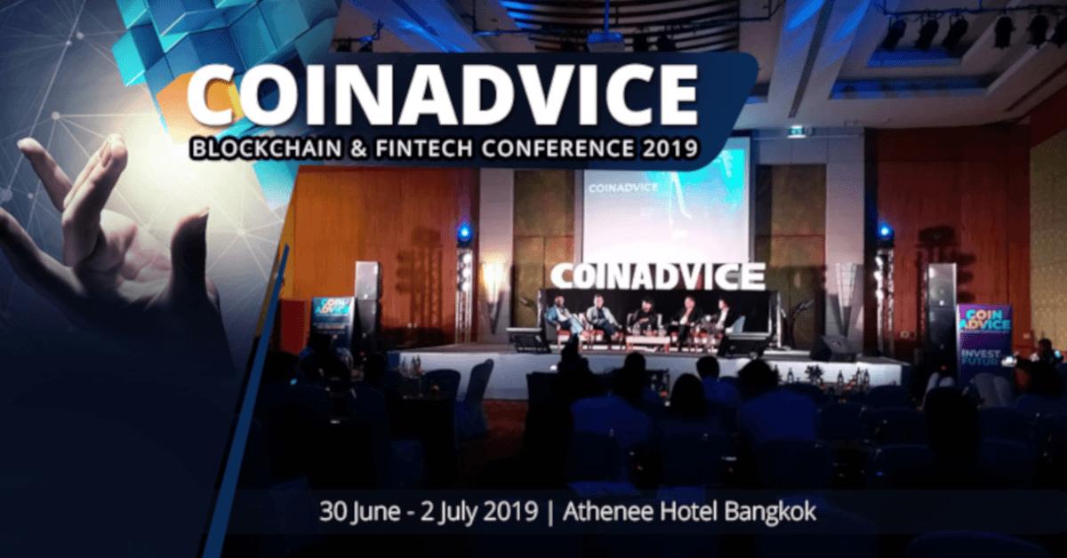 Coin Advice Blockchain Conference Bangkok