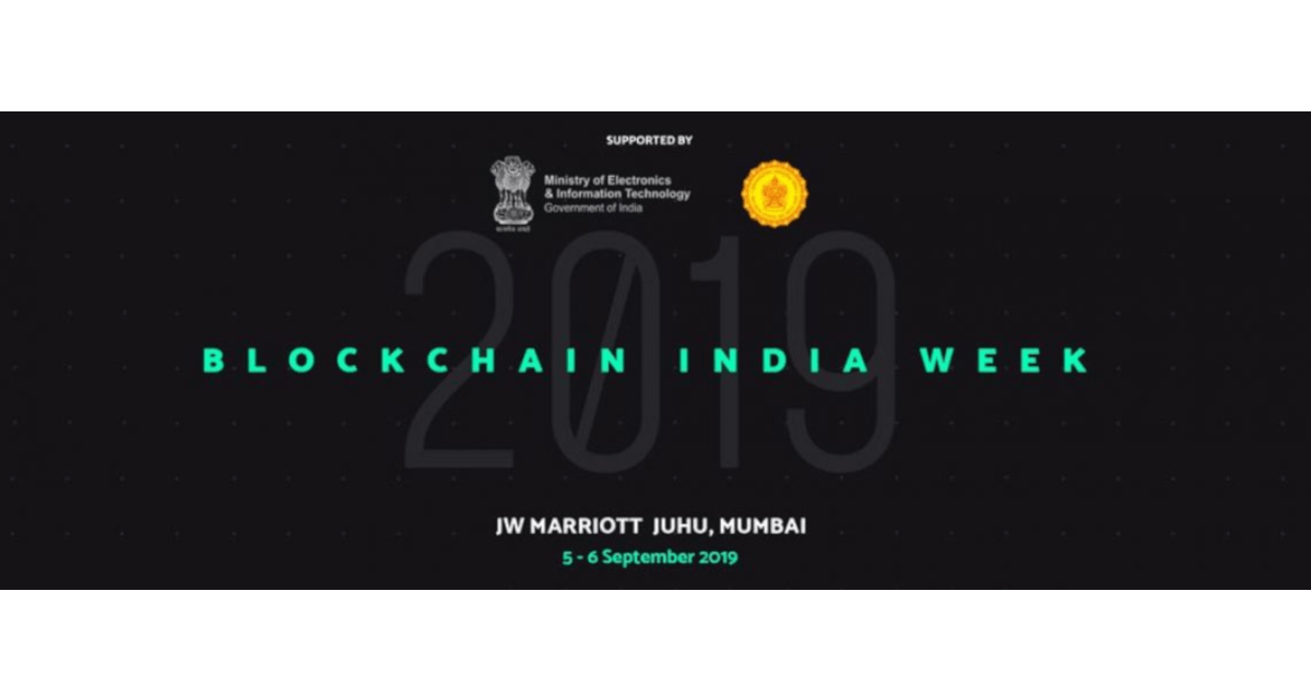 Blockchain India Week 2019