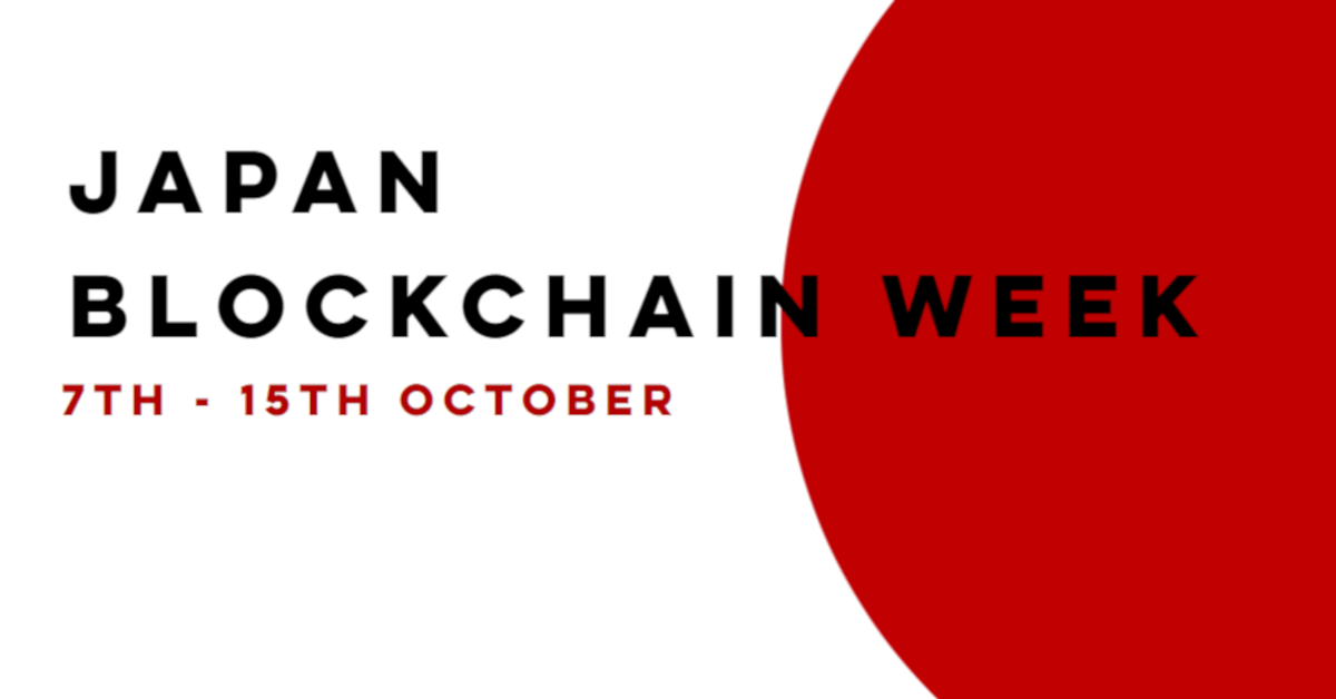 Japan Blockchain Week