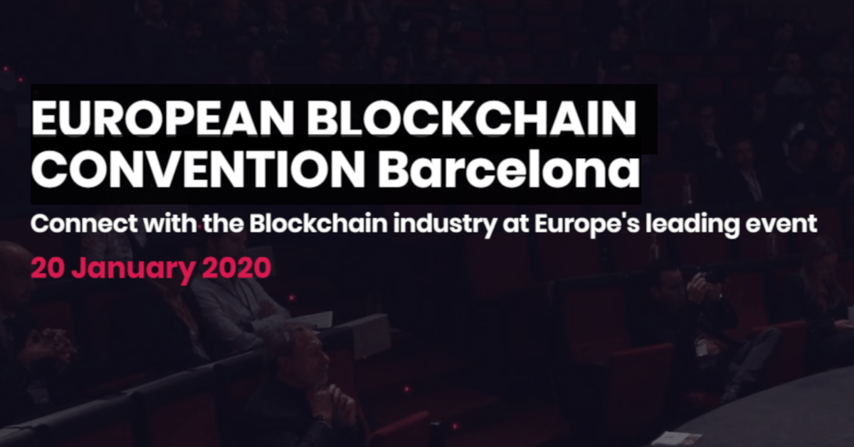 European Blockchain Convention Barcelona