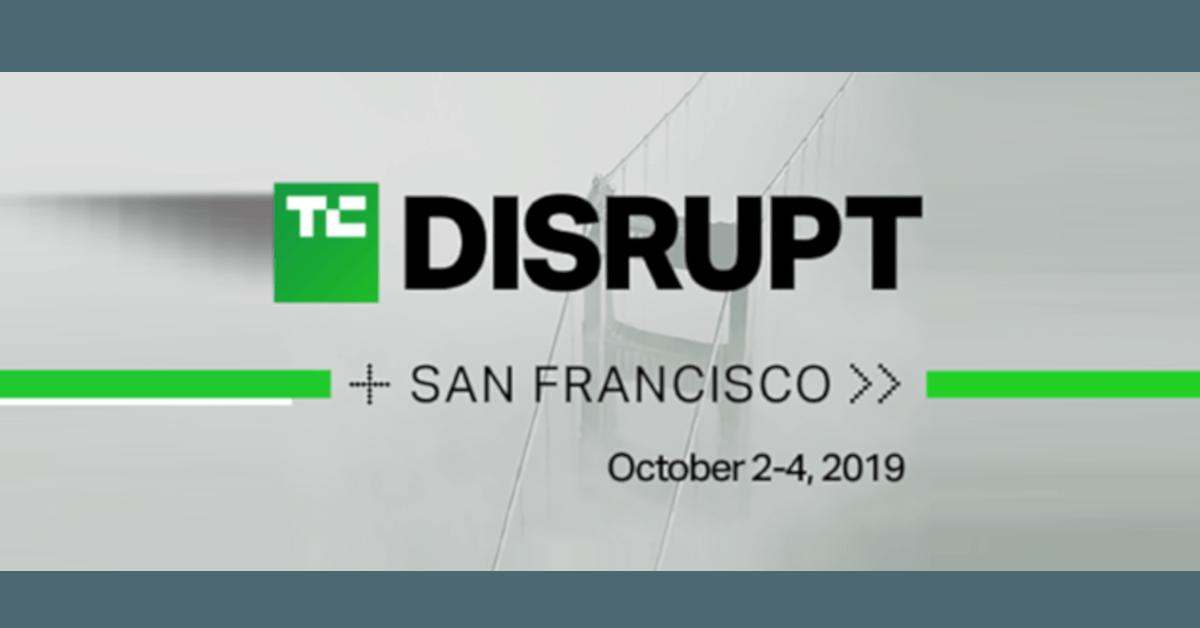 Disrupt SF 2019