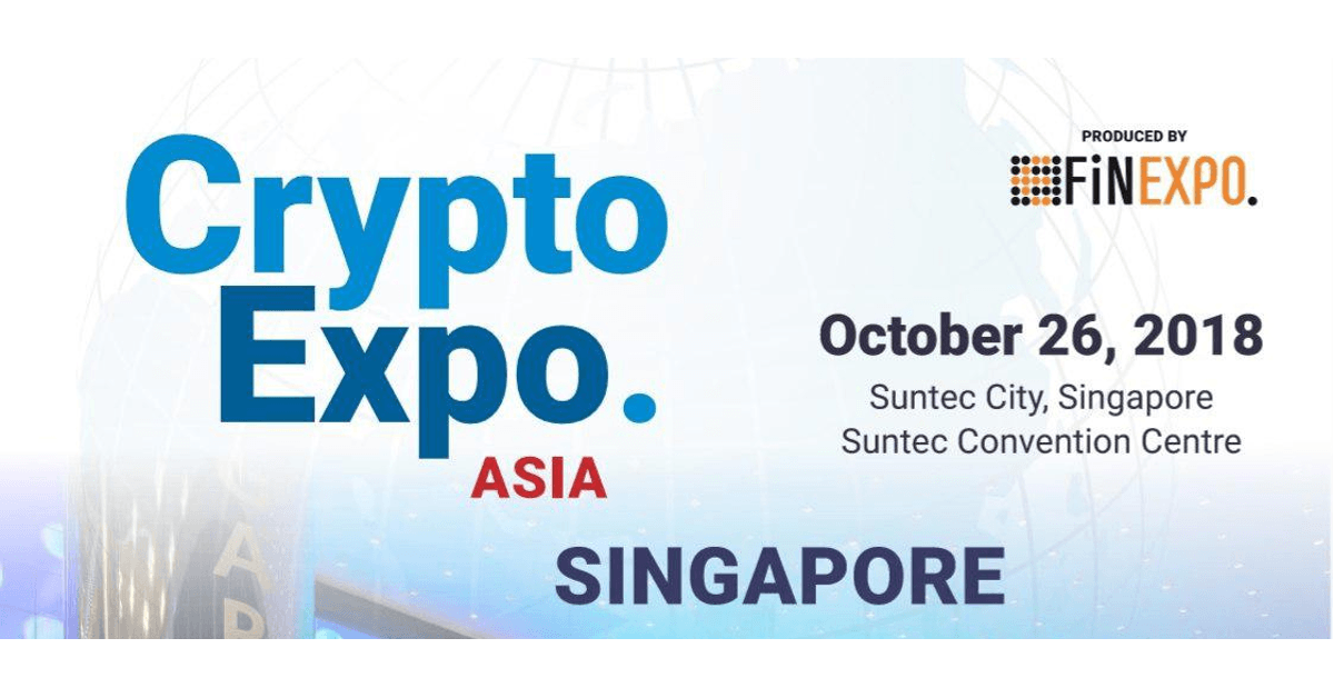 Crypto EXPO Asia in Singapore