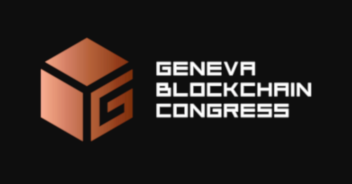 Geneva Blockchain Congress