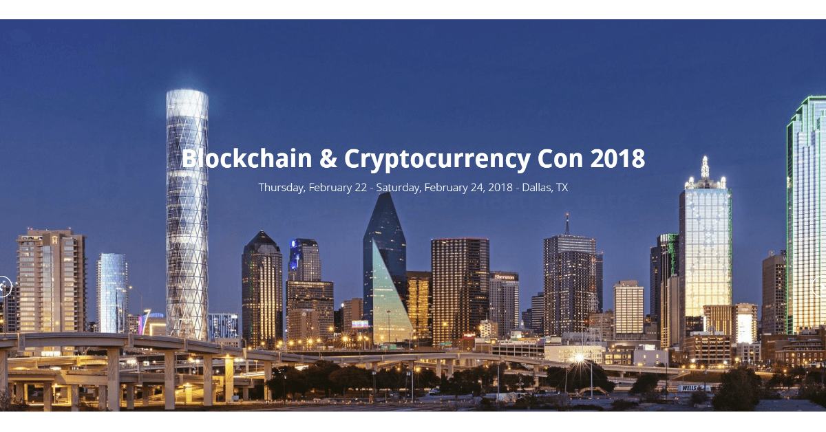 Blockchain and Cryptocurrency Con 2018