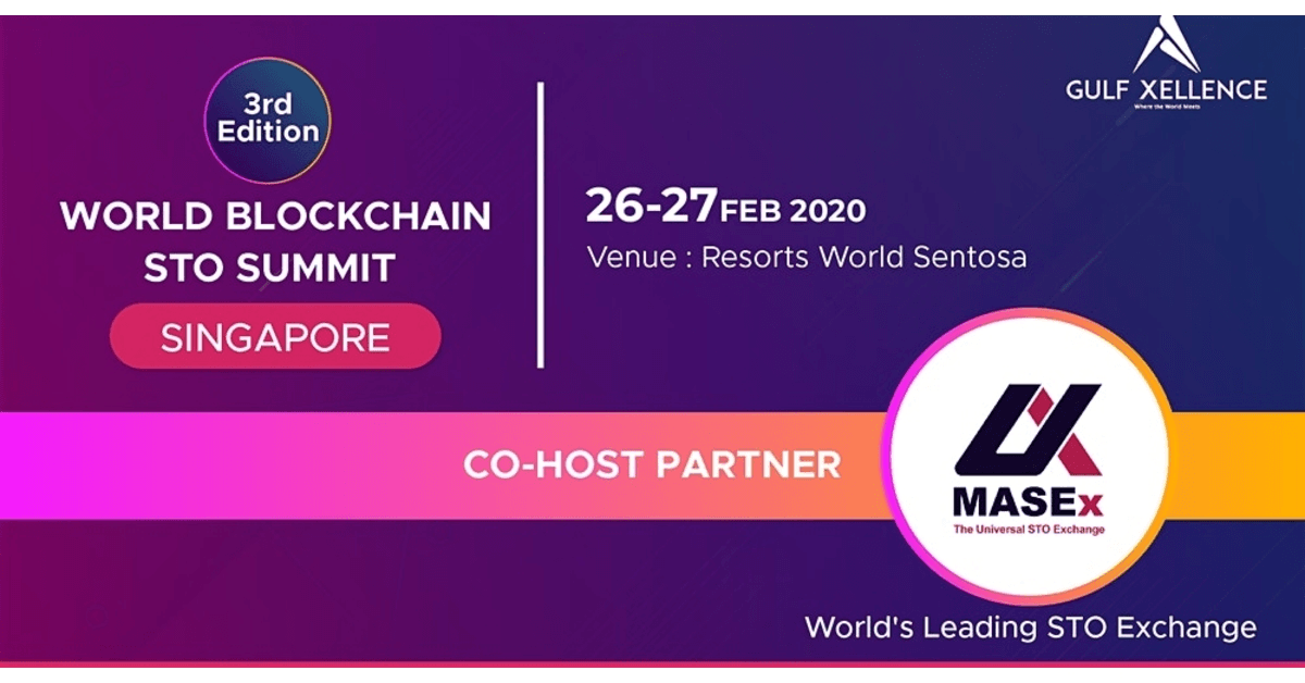 World Blockchain STO Summit Singapore