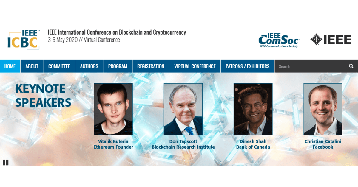 Konferensi Internasional IEEE tentang Blockchain dan Cryptocurrency 2020