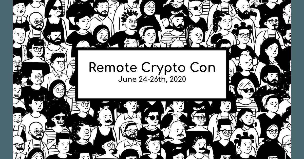 Remote Crypto Con | CoinMarketCap