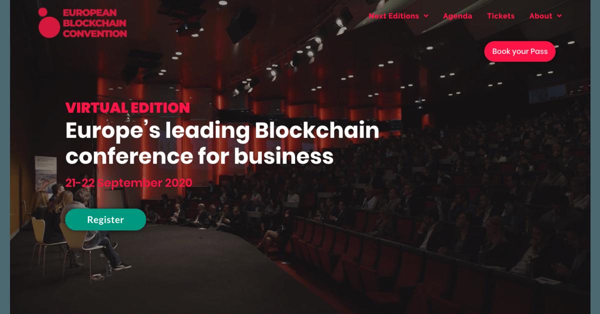 European Blockchain Convention Virtual Edition