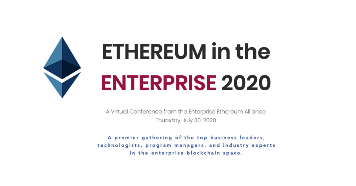Ethereum in the Enterprise 2020