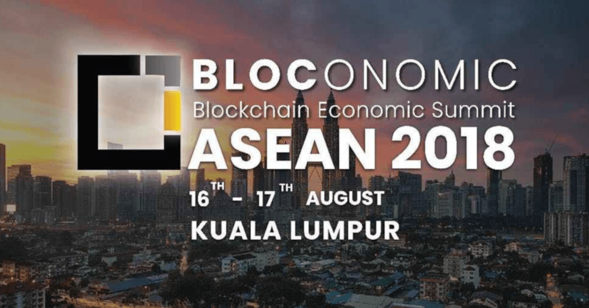 Bloconomic 2018--ASEAN-Blockchain Economic Summit