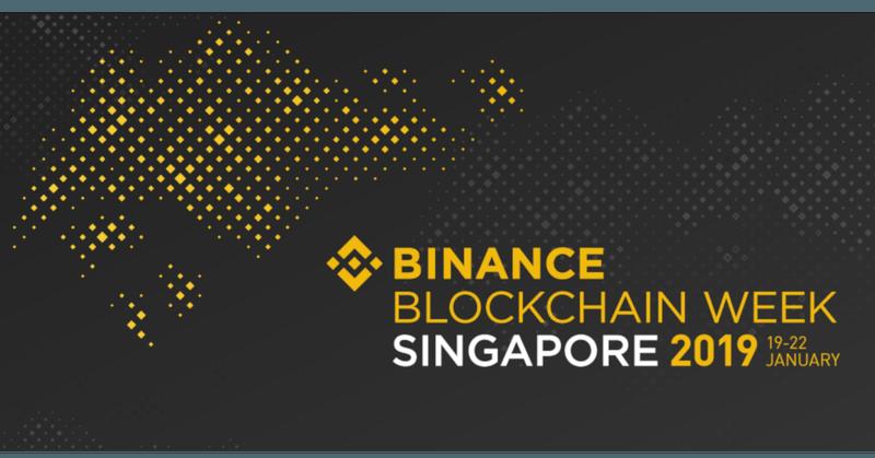 Binance Blockchain Week Singapore 2019