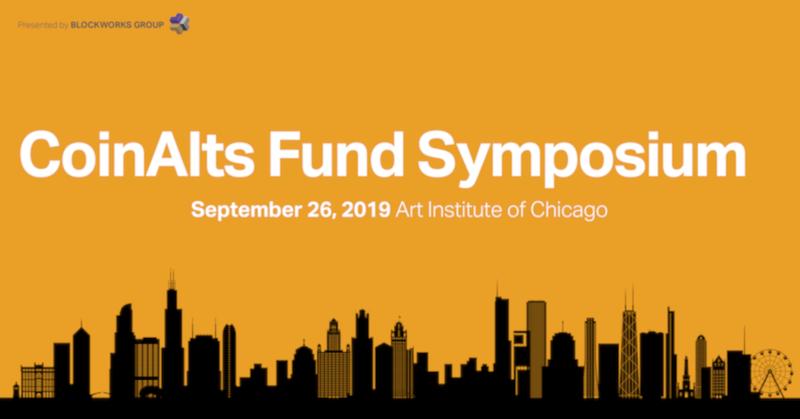 CoinAlts Fund Symposium 2019
