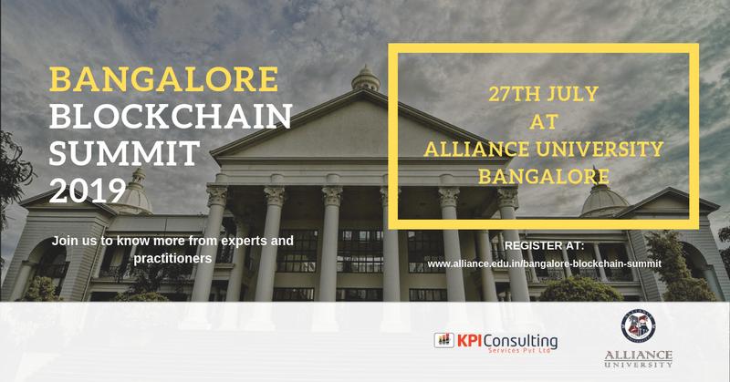 Бангалор Blockchain Саммит 2019