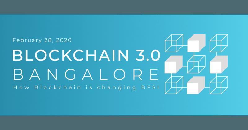 Blockchain 3.0 Bangalore